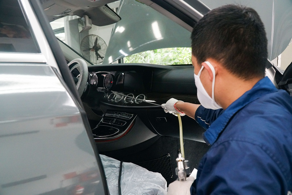 Khử trùng vệ sinh cho xe ô tô như thế nào để phòng dịch Covid - 19? - ảnh 3