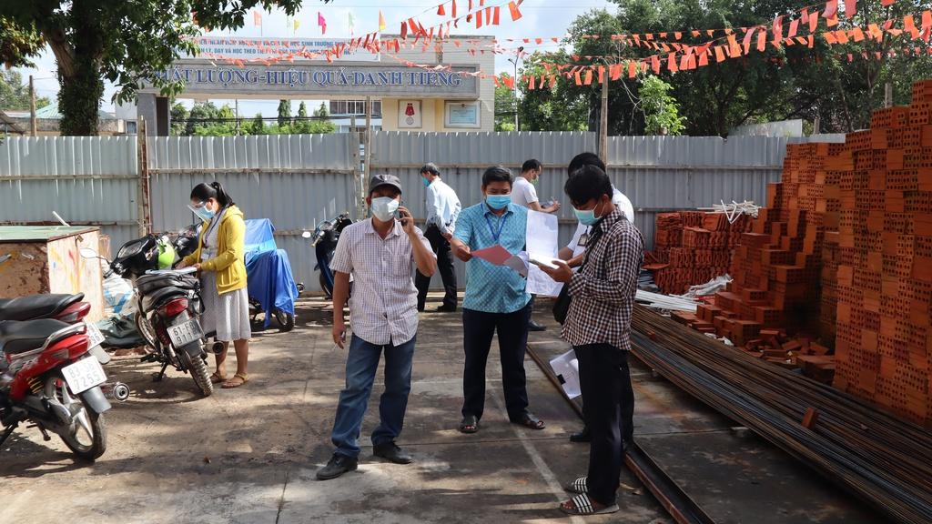 Bình Phước: Công trình xây dựng tập trung 78 lao động vi phạm Chỉ thị 16 - ảnh 2