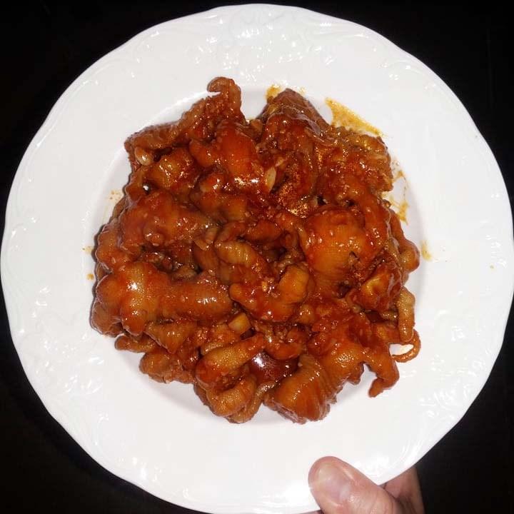 Cách làm chân gà rút xương sốt cay hao cơm, ăn là ghiền - ảnh 7