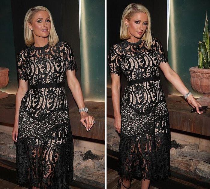 Ở tuổi 40, Paris Hilton nhìn trẻ hơn sau khi cắt tóc - ảnh 4