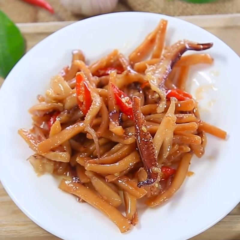 2 cách làm mực khô xào chua ngọt và xào me dễ ăn dễ nghiện đơn giản - ảnh 9