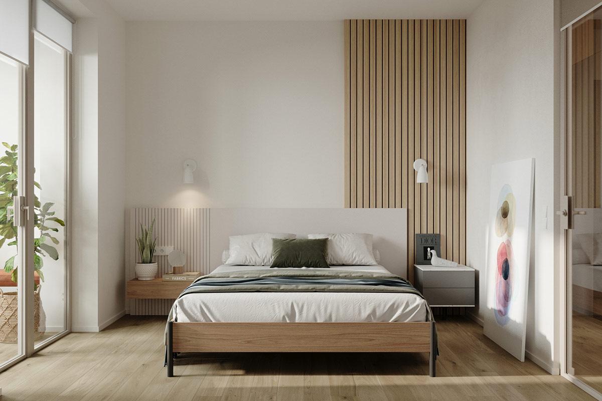 Tư vấn thiết kế căn hộ 69m² với phong cách tối giản trong khoảng chi phí 170 triệu đồng - ảnh 6