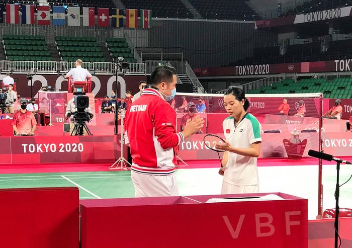 Khán giả bất bình vì không được xem Thùy Linh đánh bại tay vợt Pháp tại Olympic Tokyo 2020 - ảnh 3