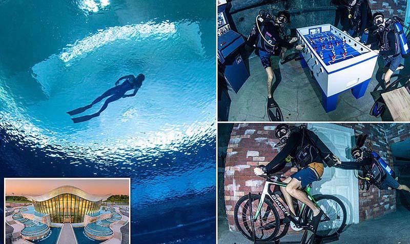 Bể bơi sâu nhất thế giới - ảnh 9