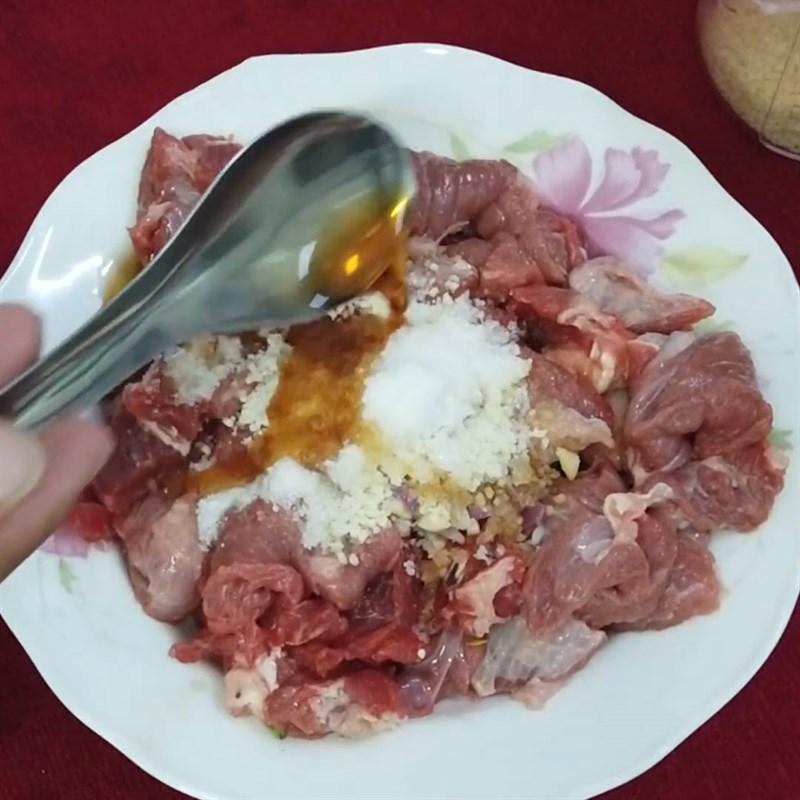 Cách làm cải thìa xào thịt bò thơm ngon lạ miệng hấp dẫn ăn hoài không ngán - ảnh 8