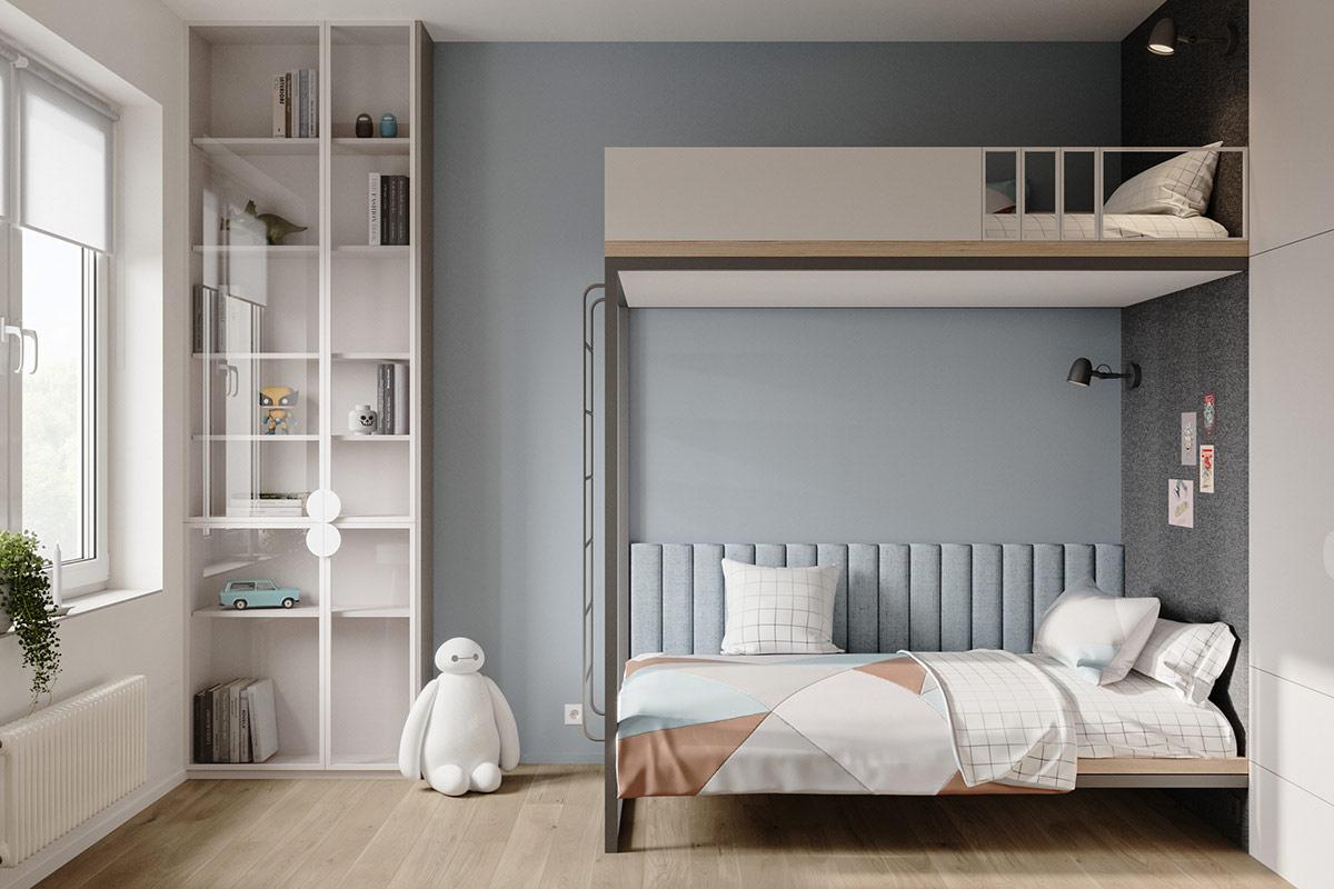 Tư vấn thiết kế căn hộ 69m² với phong cách tối giản trong khoảng chi phí 170 triệu đồng - ảnh 9