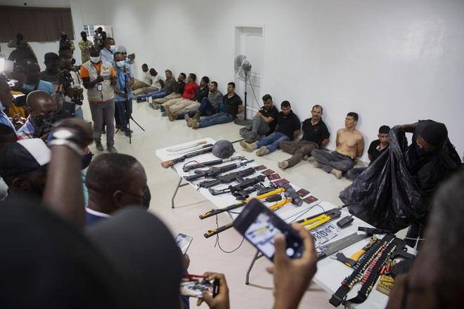 7 nghi phạm vụ ám sát Tổng thống Haiti từng được Mỹ huấn luyện - ảnh 4