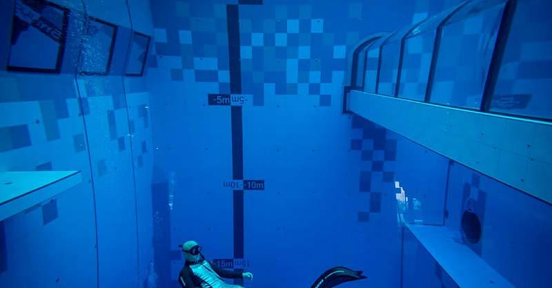 Bể bơi sâu nhất thế giới - ảnh 16