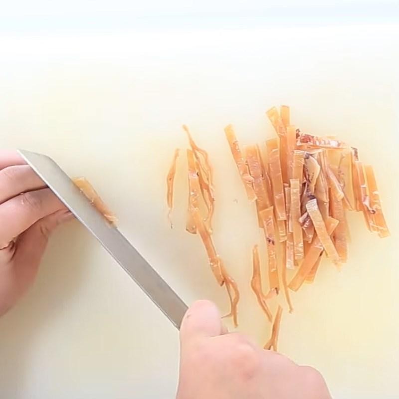 2 cách làm mực khô xào chua ngọt và xào me dễ ăn dễ nghiện đơn giản - ảnh 6