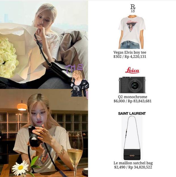 Rosé (BLACKPINK) khiến netizen