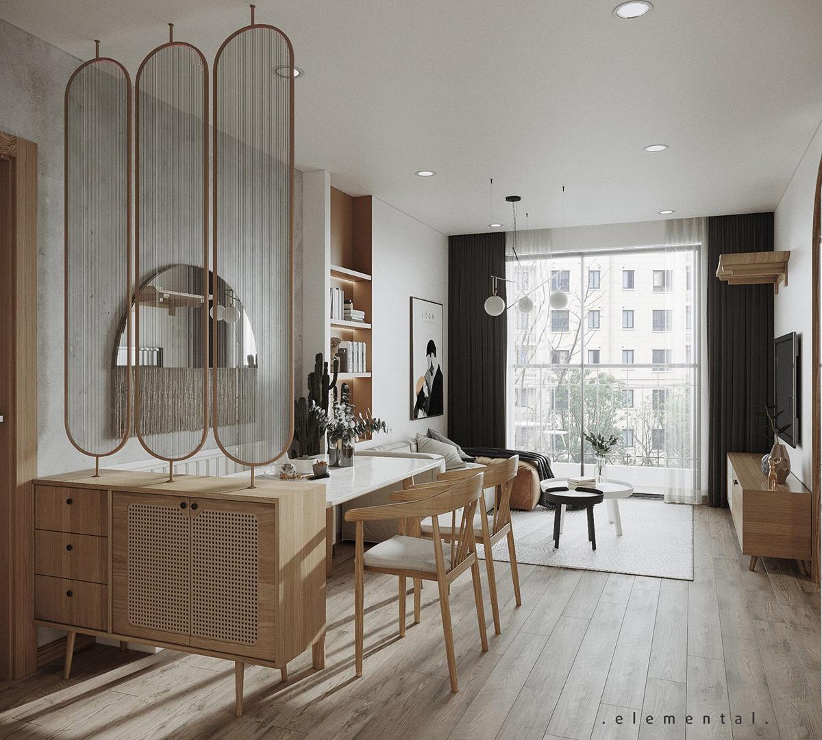 Tư vấn thiết kế căn hộ 69m² với phong cách tối giản trong khoảng chi phí 170 triệu đồng - ảnh 4
