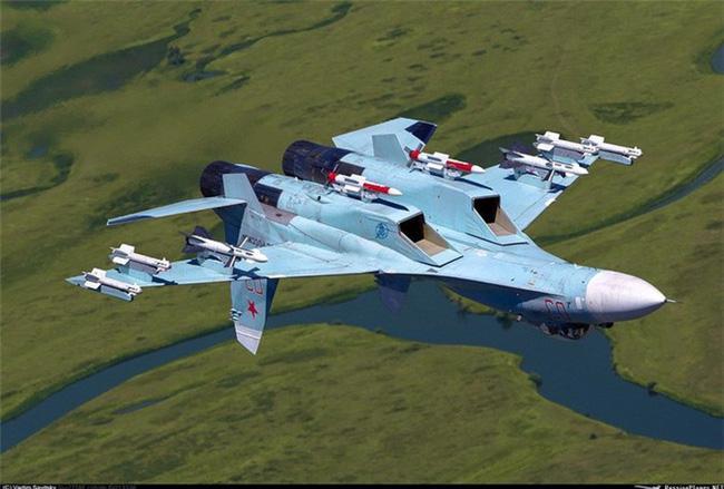 Vì sao NATO căm ghét phi đội máy bay chiến đấu hạng nặng Su-27? - ảnh 12