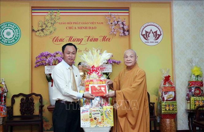 TP Hồ Chí Minh tiếp nhận thiết bị y tế do Giáo hội Phật giáo Việt Nam trao tặng - ảnh 2