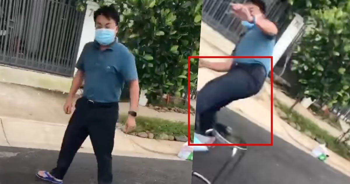 Người đàn ông đá văng bàn làm việc của nhân viên y tế ở TP.HCM gây bức xúc - ảnh 9