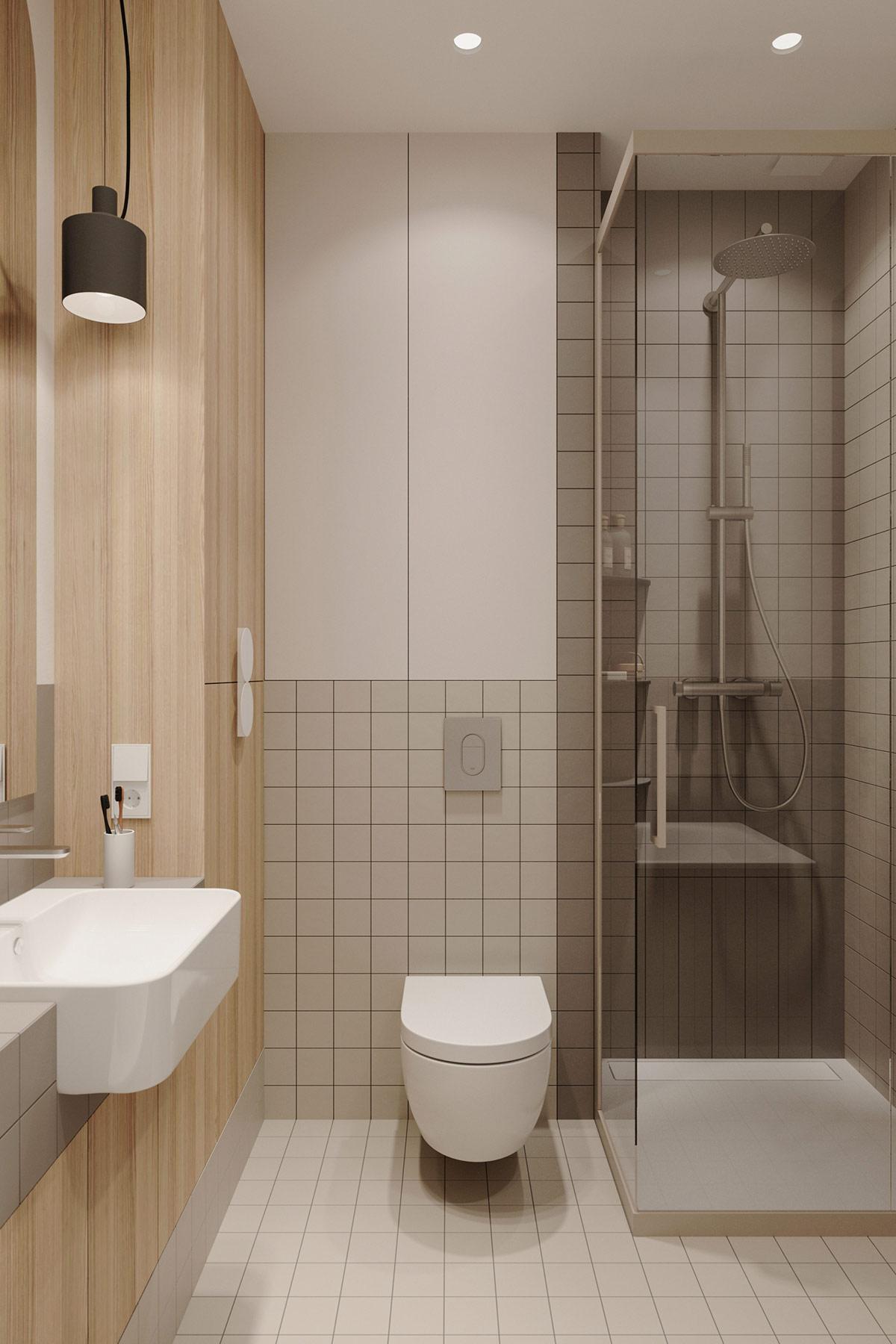 Tư vấn thiết kế căn hộ 69m² với phong cách tối giản trong khoảng chi phí 170 triệu đồng - ảnh 11