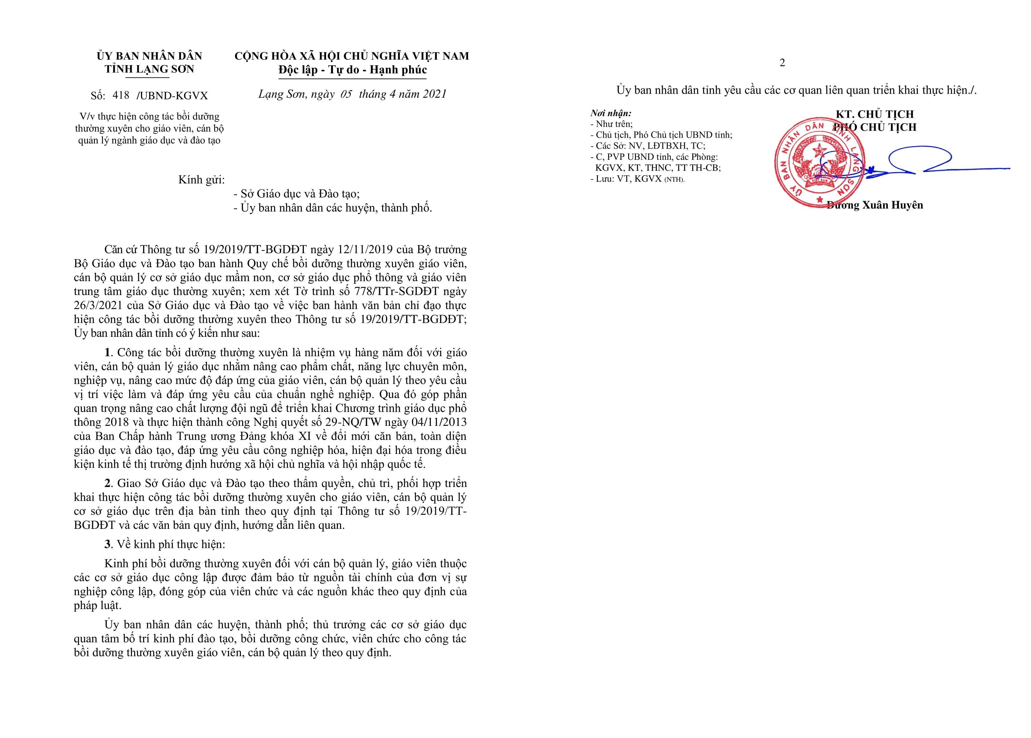 Giám đốc Sở Giáo dục Lạng Sơn lên tiếng về phản ánh của giáo viên mầm non - ảnh 2
