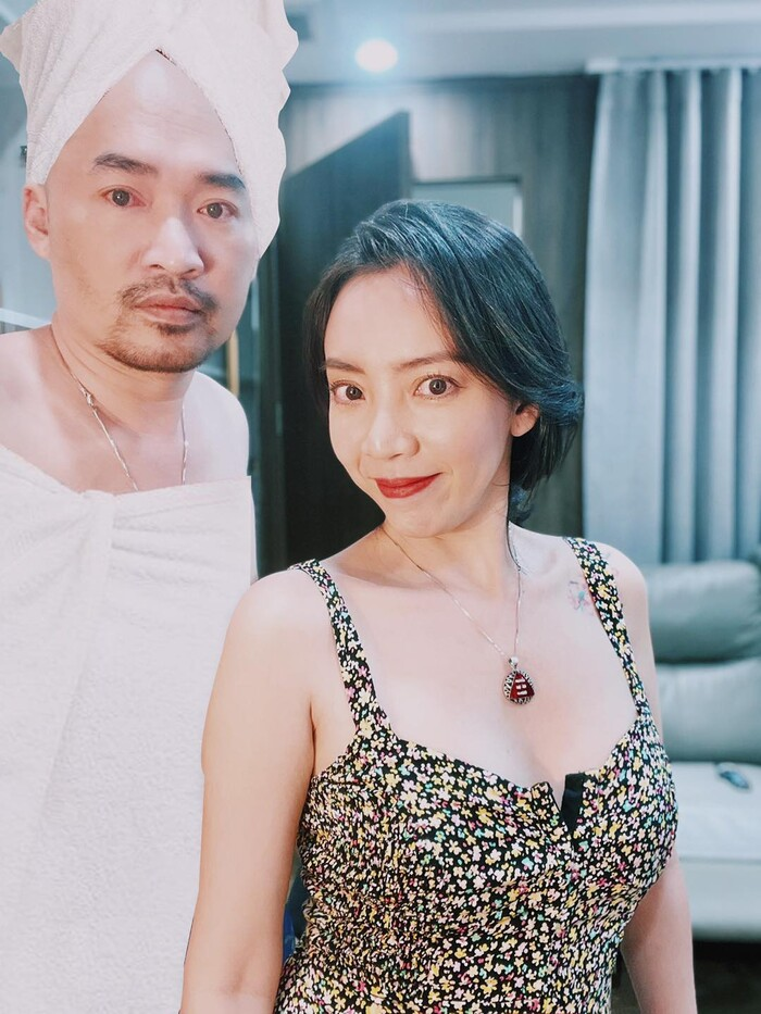 Tiến Luật ''nóng mắt'' khi thấy bà xã Thu Trang thường xuyên tung ảnh ''thả thính'' gợi cảm - ảnh 5