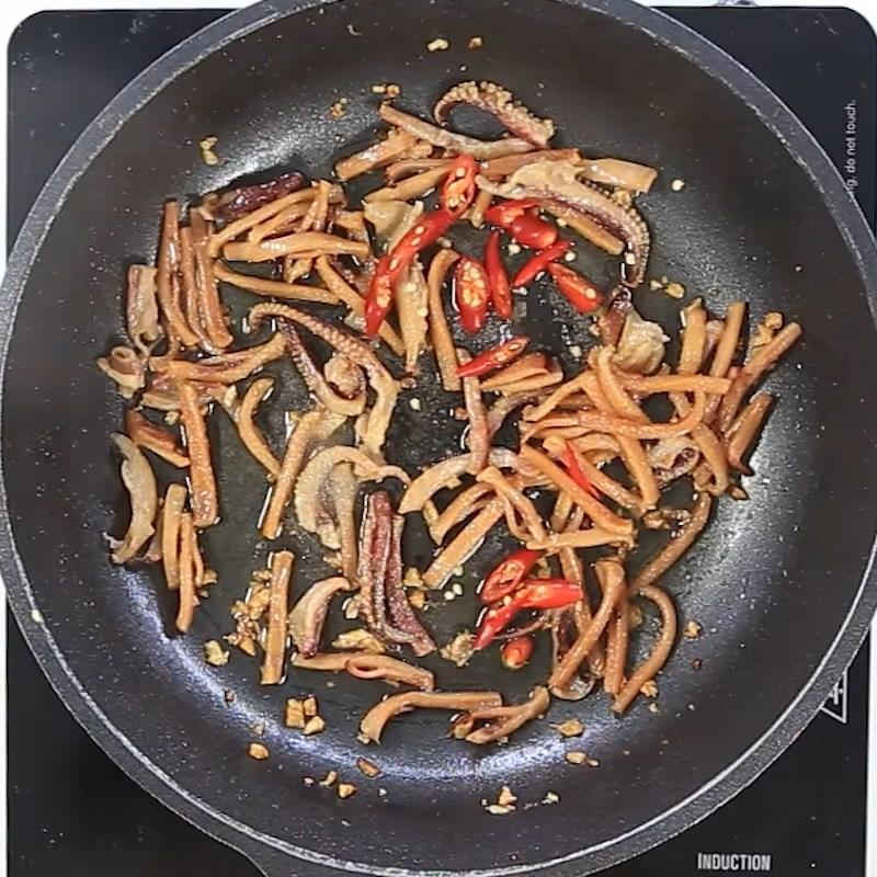 2 cách làm mực khô xào chua ngọt và xào me dễ ăn dễ nghiện đơn giản - ảnh 8