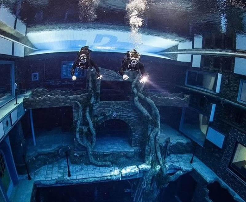 Bể bơi sâu nhất thế giới - ảnh 15