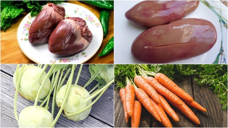 2 cách làm su hào xào lòng gà và tim cật thơm ngon bổ dưỡng ai cũng mê - ảnh 15