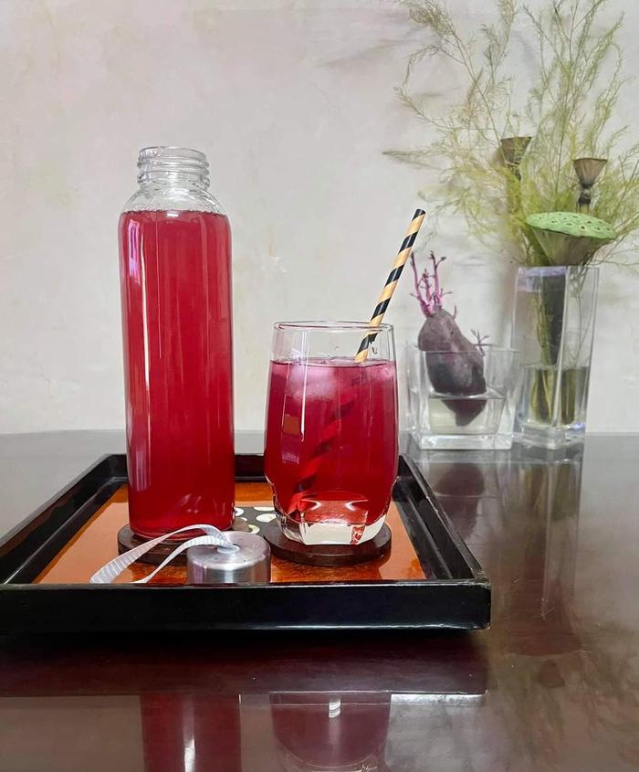 4 bước làm trà tía tô chanh sả tăng sức đề kháng, giải nhiệt cho cơ thể - ảnh 4