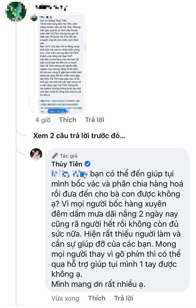 """Chủ tịch UBND Hà Tĩnh: """"Công Vinh – Thủy Tiên không nhận vơ đồ ủng hộ"""" - ảnh 7"""