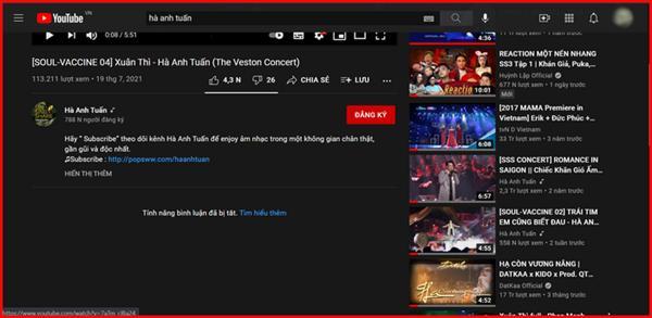 Vì sao Hà Anh Tuấn tắt chức năng bình luận trên Youtube? - ảnh 2