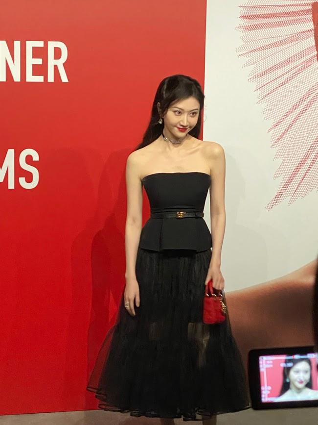 """Triệu Lệ Dĩnh đẹp ná thở trên thảm đỏ, lấn lướt Cảnh Điềm """"đệ nhất mỹ nữ Bắc Kinh"""" - ảnh 3"""
