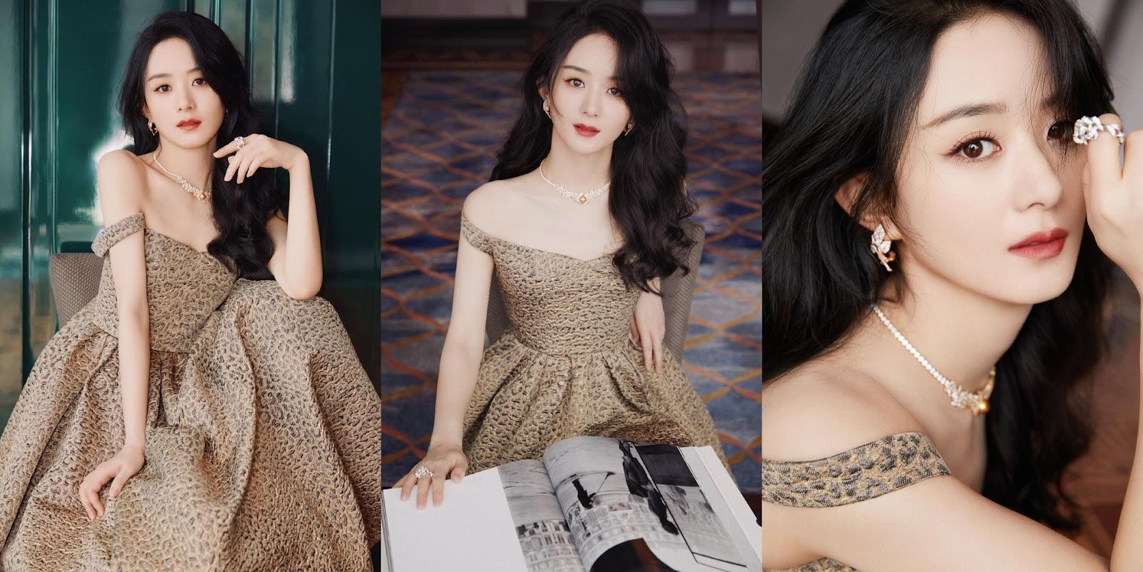 """Triệu Lệ Dĩnh đẹp ná thở trên thảm đỏ, lấn lướt Cảnh Điềm """"đệ nhất mỹ nữ Bắc Kinh"""" - ảnh 11"""