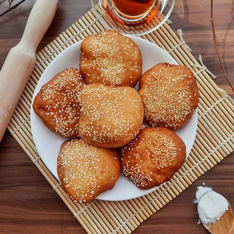 Cách làm bánh tiêu mềm ngon thơm lừng, ăn là ghiền - ảnh 15