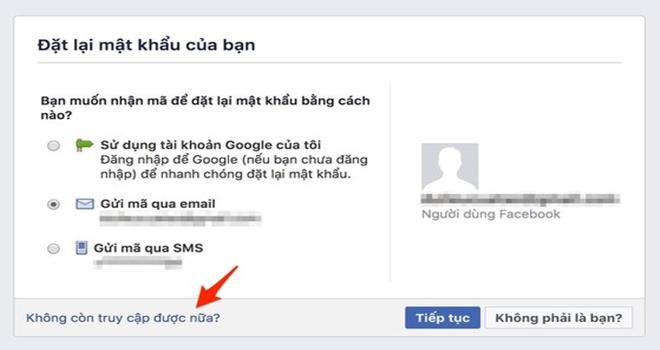 Cách lấy lại mật khẩu Facebook dễ dàng - ảnh 4
