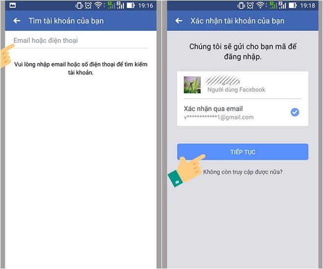 Cách lấy lại mật khẩu Facebook dễ dàng - ảnh 5