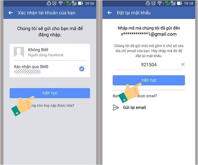 Cách lấy lại mật khẩu Facebook dễ dàng - ảnh 6