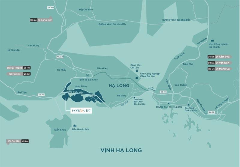 Horizon Bay: Tâm điểm hút nhà đầu tư từ vị trí cửa ngõ Hạ Long - ảnh 1