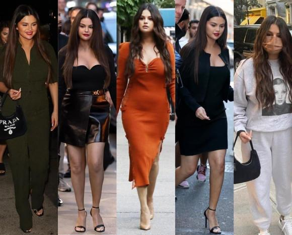 Selena Gomez xuất hiện với thân hình phát tướng bất thường