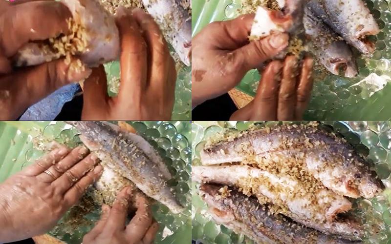 Món cá đù chiên sả ớt giòn rụm ngon thấm vị - ảnh 3