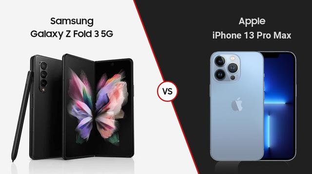 Nghịch lý iPhone 13 với Galaxy Z Fold3 - ảnh 1