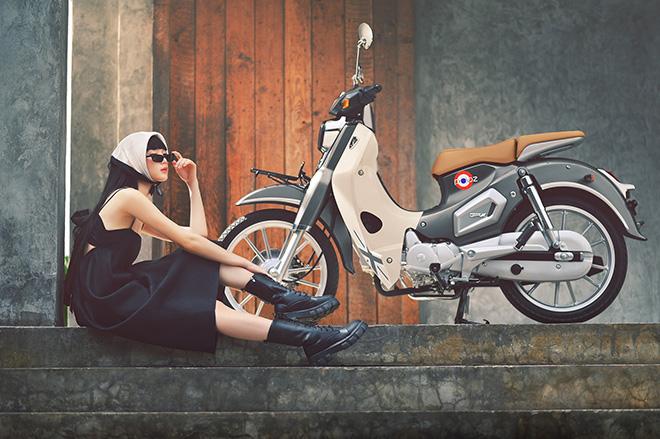 Xe máy Thái tựa Honda Cub ăn điểm vì giá cực rẻ, thiết kế