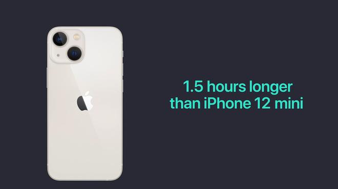 iPhone 13 và iPhone 13 mini chính thức: ''Tai thỏ'' gọn hơn, camera có chống rung cảm biến, Apple A15, giá từ 699 USD - ảnh 14