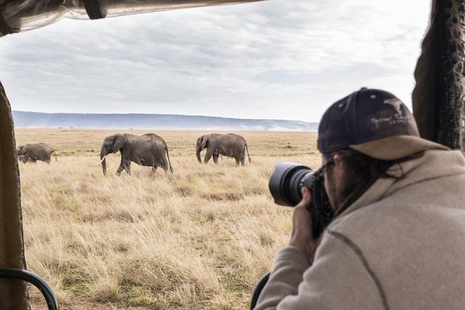 Tận dụng thời gian mắc kẹt ở Kenya do đại dịch, nhiếp ảnh gia tạo ra album ảnh động vật hoang dã ấn tượng - ảnh 1