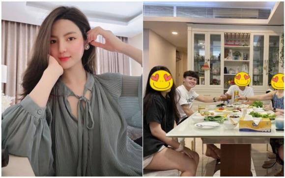 Hot girl Thanh Huyền ẩn ý chuyện đang hẹn hò với Quang Hải? - ảnh 1