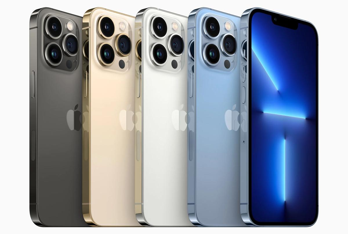 iPhone 13 Pro và iPhone 13 Pro Max đấu các đối thủ: Trận chiến màn hình - ảnh 1