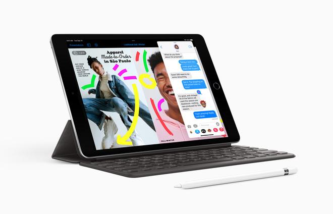 Apple ra mắt iPad giá rẻ mới: A13 Bionic, camera selfie góc siêu rộng, giá từ 329 USD - ảnh 1
