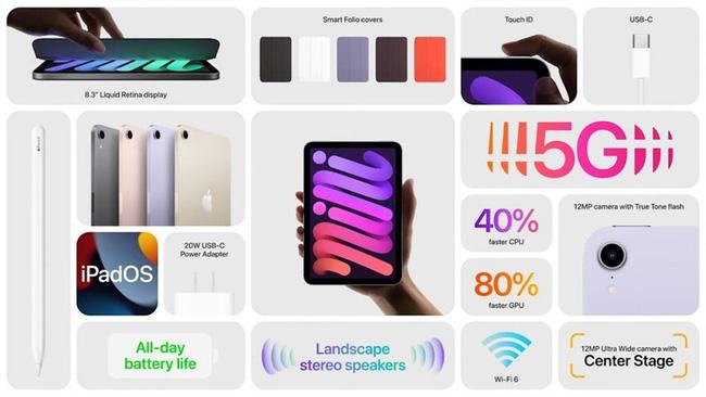 Không phải iPhone 13, iPad mini 6 mới là ngôi sao của màn ra mắt đêm qua, bạn có sẵn sàng bung ví? - ảnh 9
