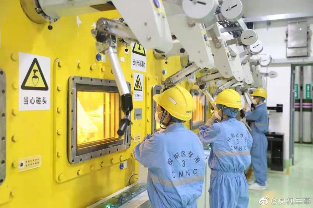 Nhà máy biến chất thải hạt nhân thành thủy tinh đầu tiên tại Trung Quốc sử dụng công nghệ hiện đại cỡ nào? - ảnh 1
