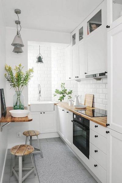 Mẫu nhà bếp nhỏ đẹp, cực tiện nghi cho chung cư gây sốt hiện nay - ảnh 8