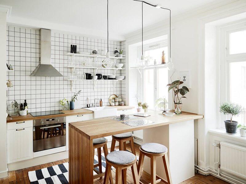 Mẫu nhà bếp nhỏ đẹp, cực tiện nghi cho chung cư gây sốt hiện nay - ảnh 6