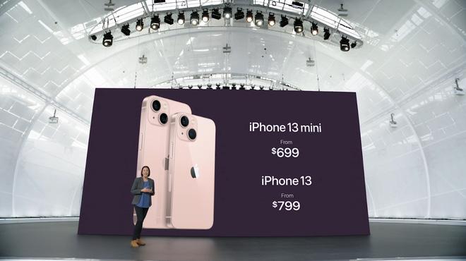 iPhone 13 và iPhone 13 mini chính thức: ''Tai thỏ'' gọn hơn, camera có chống rung cảm biến, Apple A15, giá từ 699 USD - ảnh 16