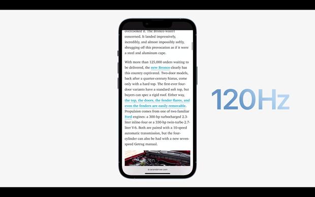 Apple chính thức giới thiệu 4 mẫu iPhone 13 mới với giá từ 699 USD - ảnh 9
