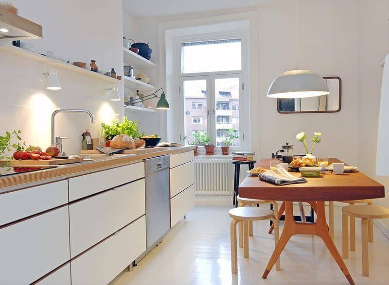 Mẫu nhà bếp nhỏ đẹp, cực tiện nghi cho chung cư gây sốt hiện nay - ảnh 5